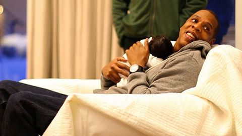 Jay-Z says his baby with Beyonce will be 'the worst, spoiled little child ever'