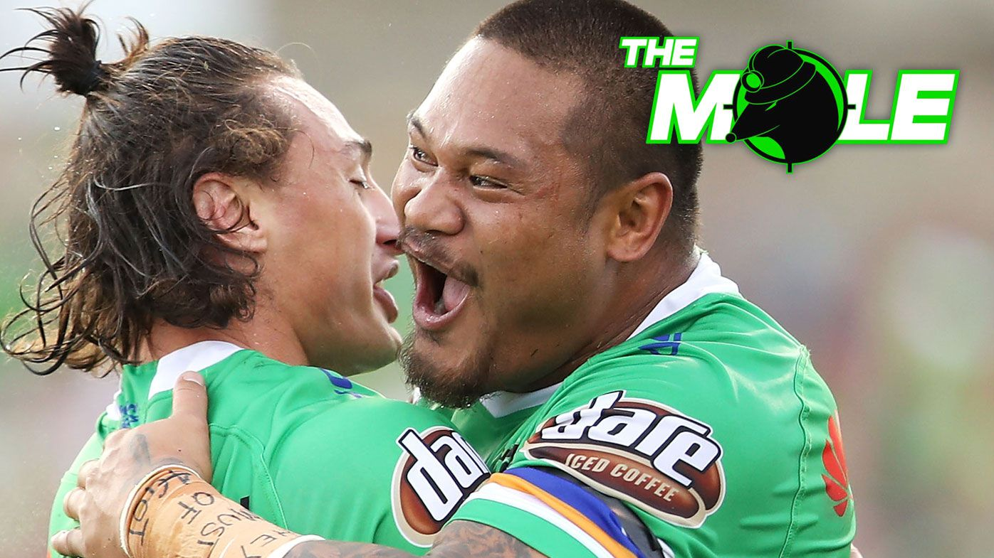 The Mole: Canberra Raiders prepared to let grand final centre Joey Leilua walk