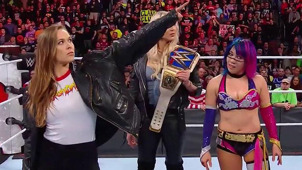 Former UFC star Ronda Rousey joins WWE and hints at Wrestlemania appearance