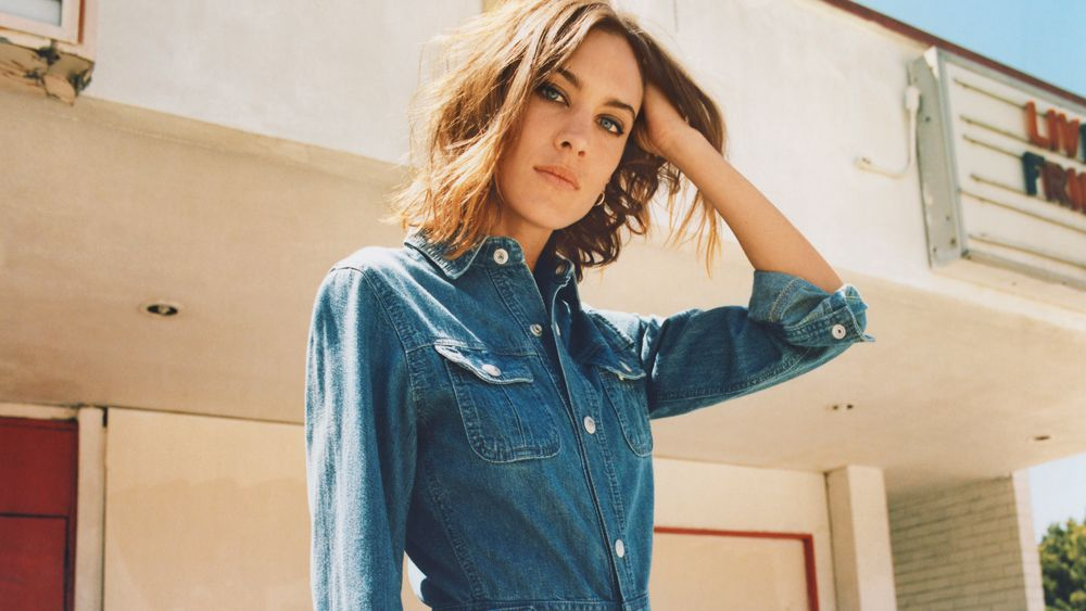 Alexa Chung's new clothing range is perfect for channelling Alexa Chung