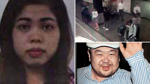 Siti Aisyah was arrested following the death of Kim Jong-Nam, the half-brother of North Korean leader Kim Jong-Un. (AFP)