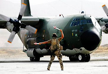 Daily Quiz: The Lockheed C-130 is better known by what official nickname?