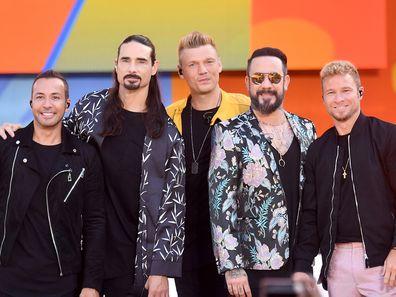 The Backstreet Boys in July 2018