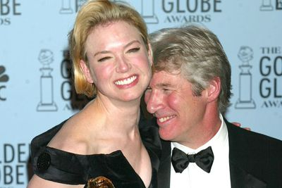 So much so, she scored a Golden Globe because of all that shakin'! <br/><br/>Here she is having a tipsy giggle with Richard Gere at a post-ceremony par-tay.