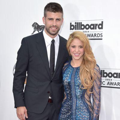 <strong>Shakira, 41, and Gerard Piqué, 31</strong>