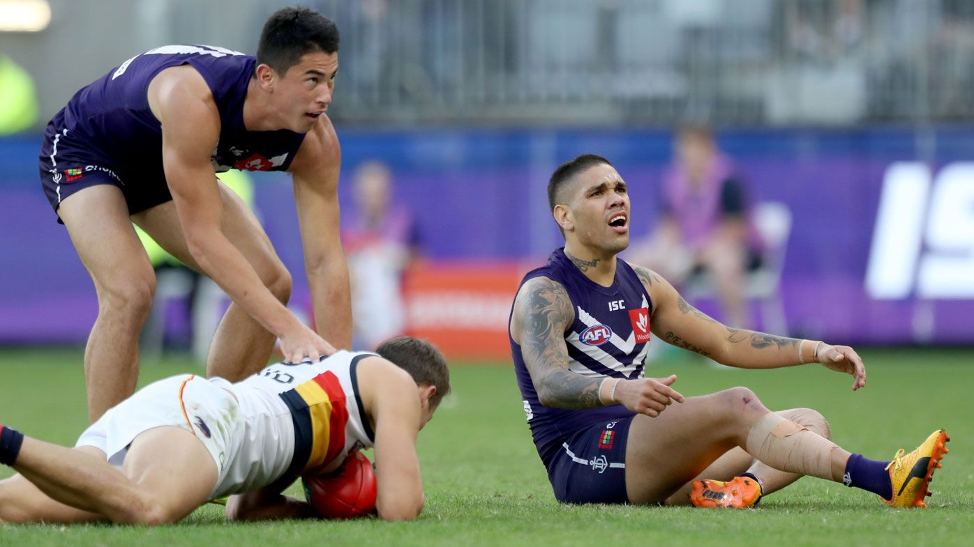 Cox boots four, Dockers beat Crows in AFL