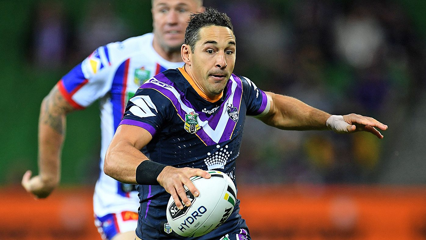 Melbourne Storm steamroll Newcastle Knights in emphatic return to NRL form