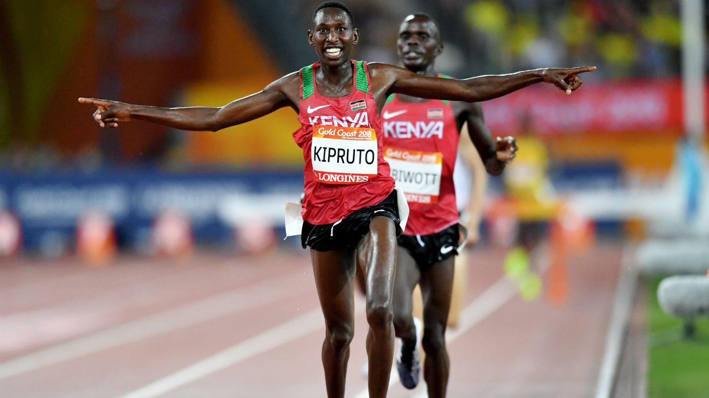 Kipruto employs cheeky tactics to ensure Kenyan steeplechase sweep