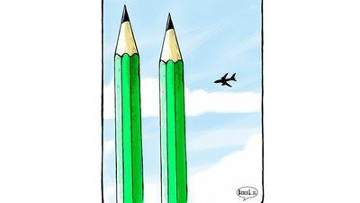 Ruben L Oppenheimer, Dutch political cartoonist