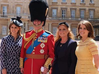 uke of York's family make rare appearance together