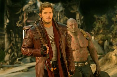 Chris Pratt stars as Peter Quill in Guardians Of The Galaxy.