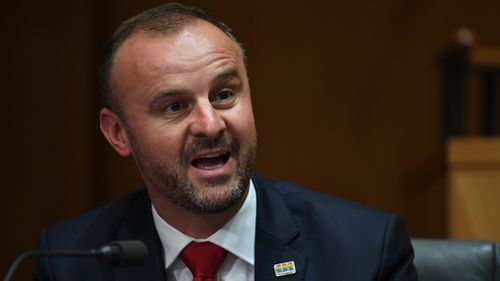 Andrew Barr says the Budget is aimed at coping with the the territory's growing population. (AAP)