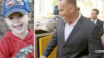 Man laughs after pleading guilty to manslaughter of boy
