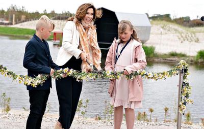 Princess Mary opens new attraction in Ringkøbing, June 2020