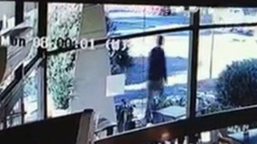 Gauci was seen on CCTV walking to freedom.