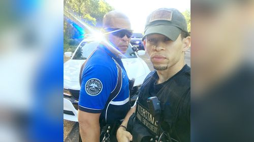 Facebook users thank Mississippi father-son cops for their service after #hislifematters trends online