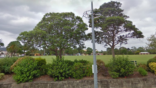 Three men charged over alleged sexual assault of girls in NSW park