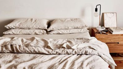 Linen sheets from Bed Threads