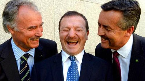 Foreign leaders bemused by our Merv-style moustachioed MPs
