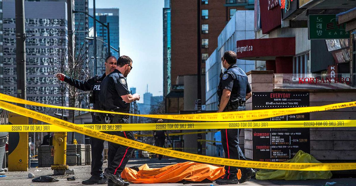 Man who used van to kill 10 pedestrians in Toronto guilty – 9News