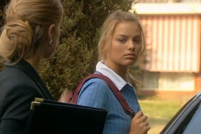 Margot graduated from Somerset College, a private school in Queensland's Mudgeeraba, in 2007, with her sights set on acting.<br/><br/>(Image: Still from <i>Neighbours</i> / Ten Network)