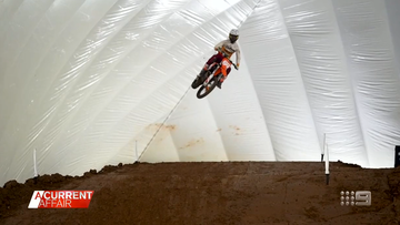 The ugly dust up behind the scenes of an indoor motocross development