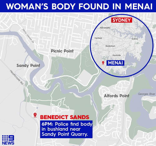 Menai woman's body found
