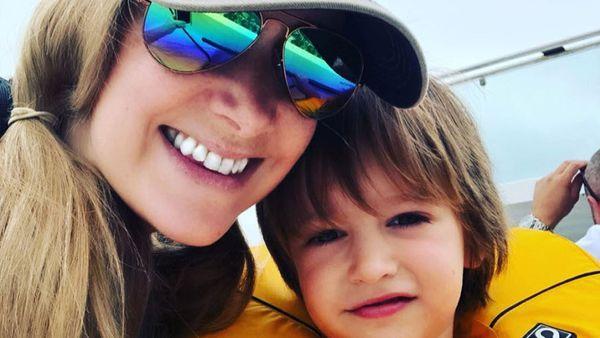 BBC newsreader Rachael Bland and her son Freddie