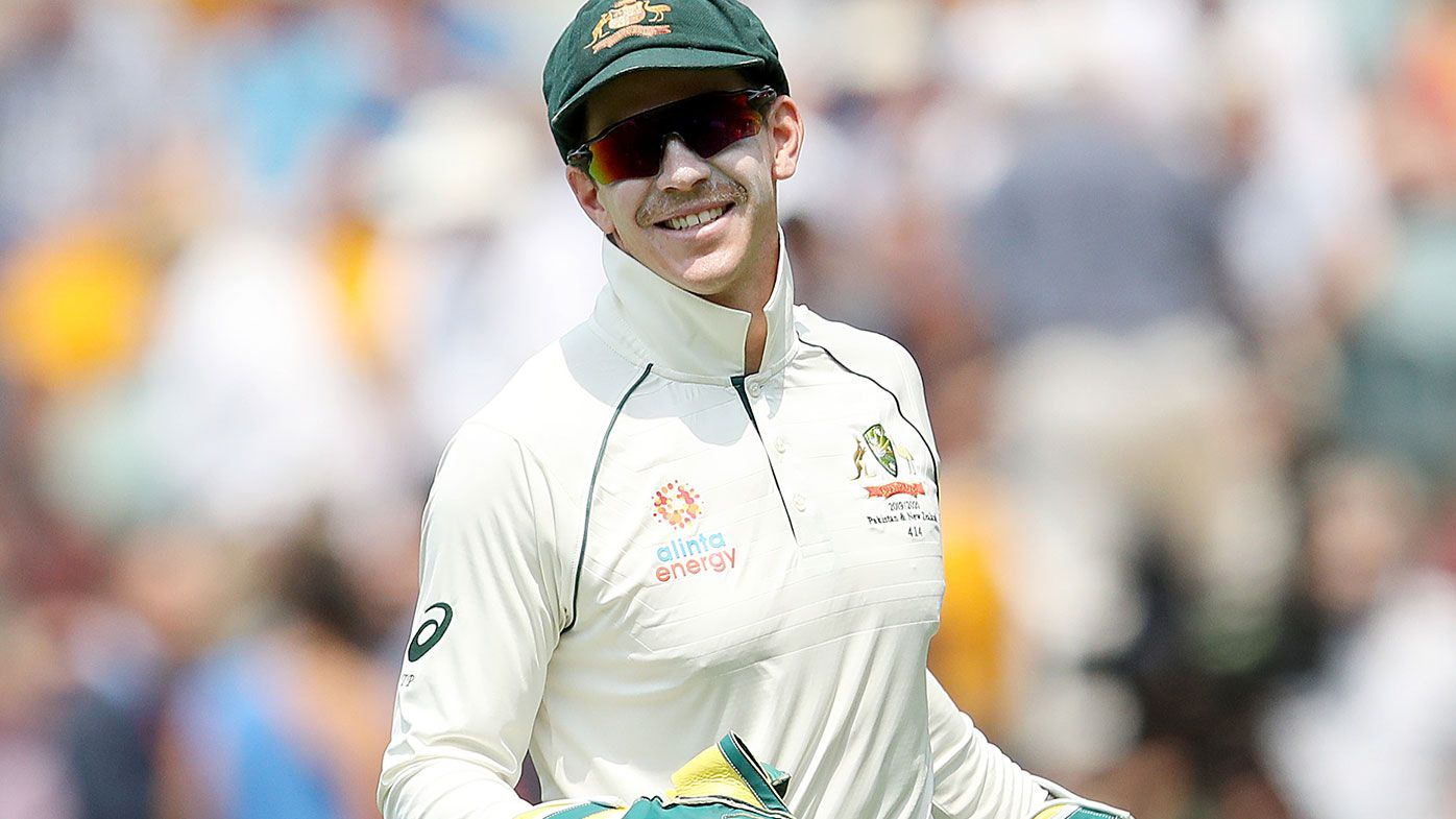 Australian captain Tim Paine.