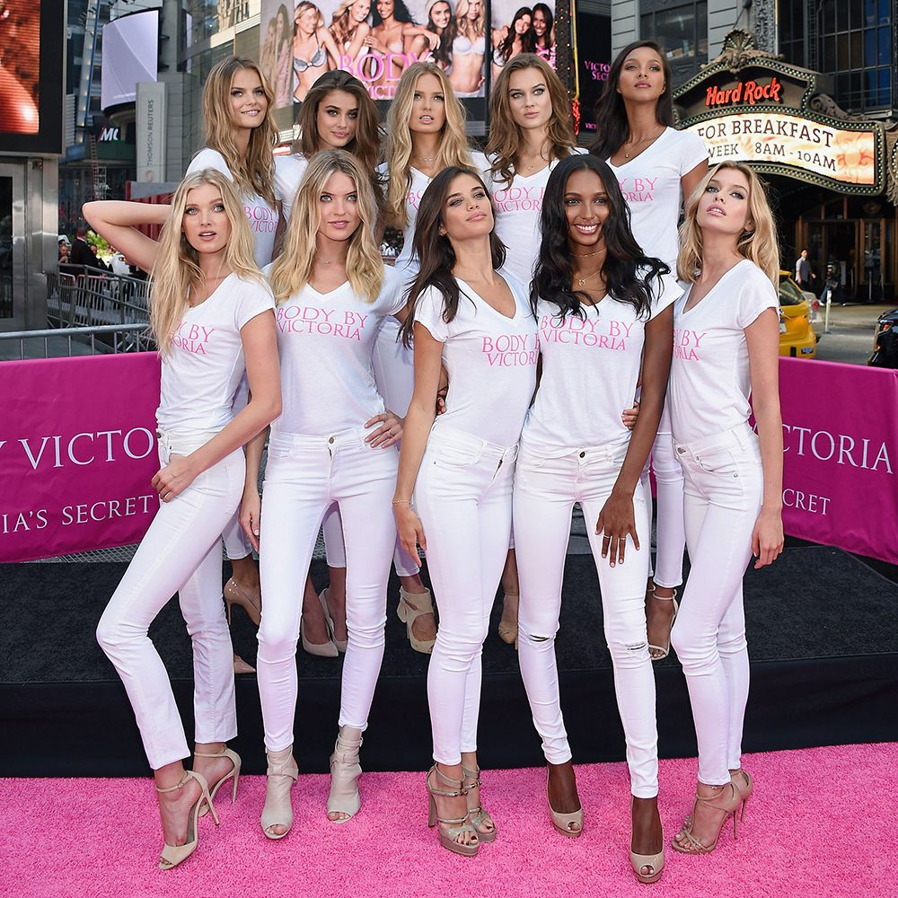 Watch the new Victoria's Secret recruits in action