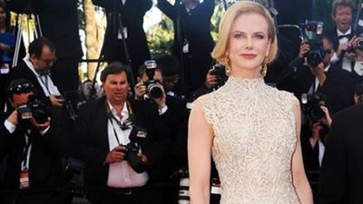 The actress walks the red carpet at the Cannes film festival in 2013 wearing Valentino.