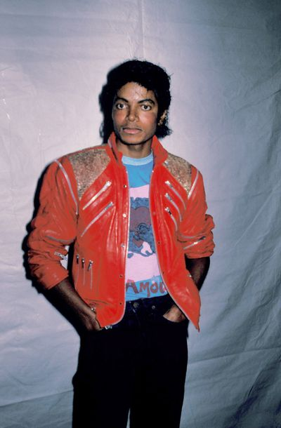 Michael Jackson at Desilu Studios, March 1984