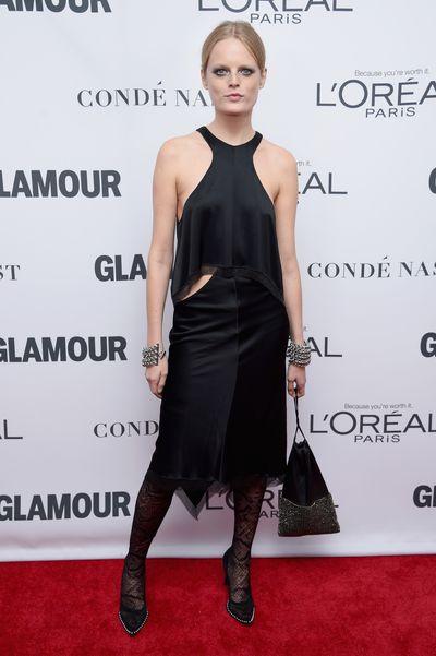 Hanne Gabby at the Glamour Women of the Year Awards, November 13.