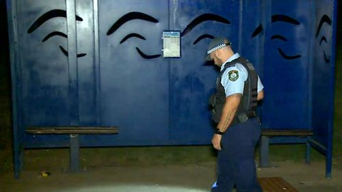 A large search of the area was conducted after the incident. (9NEWS)