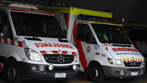Ambulance Victoria has since apologised. (AAP)