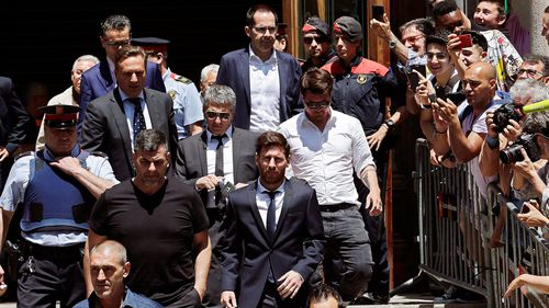 Footballer Lionel Messi handed 21-month sentence for tax fraud