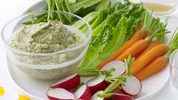 Fetta, walnut and herb dip