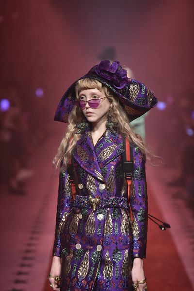 Gucci, spring/summer '17, Milan Fashion Week