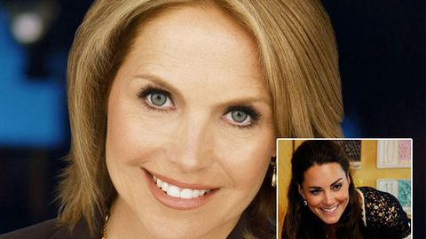 US TV personality Katie Couric slams Duchess Kate's weight loss