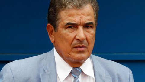 Honduras coach Jorge Luis Pinto.