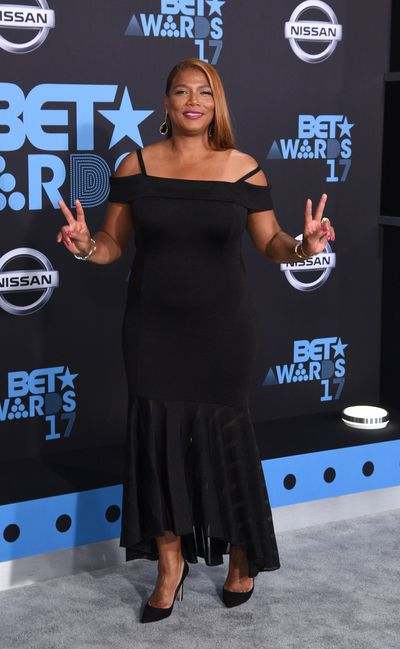 Queen Latifahat the Bet Awards 2017, Los Angeles.