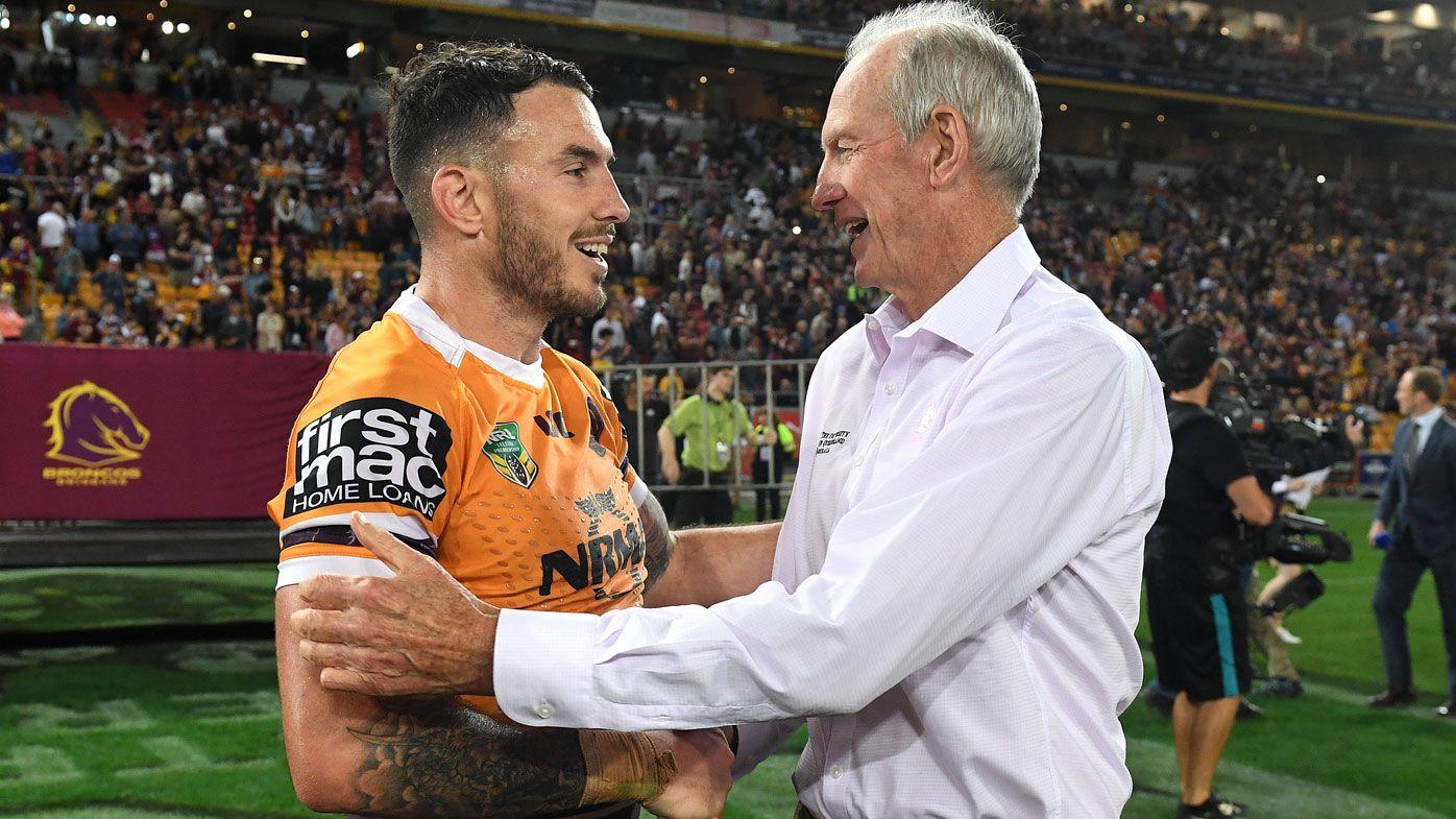 Darius Boyd adapting to Brisbane Broncos life without Wayne Bennett