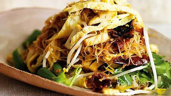Spice I Am's stir-fried vermicelli with bean curd