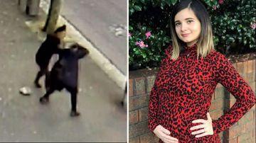 190530 Sydney pregnant woman street attack SPLIT