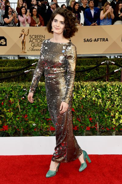 <p>Given the grand occasion, the red carpet style at Sunday's Screen Actors Guild Awards was surprisingly understated. From artfully dishevelled hair and natural make-up to minimal accessories, the haute couture was best complemented by hand-in-pocket insouciance. These stars proved that sometimes, less really is more.</p><p>Rooney Mara</p>