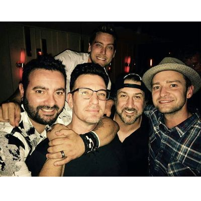 Justin Timberlake Reunites With His Nsync Bandmates For Jc Chasezs