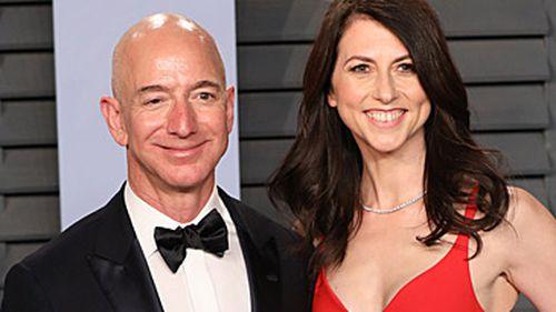Jeff and MacKenzie Bezos (Getty)