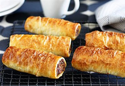 Family sausage rolls