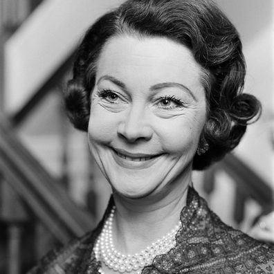 Vivien Leigh pictured in 1965, two years before her death.