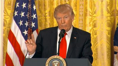 Donald Trump says he 'inherited a mess'